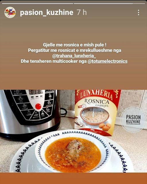 Mirëserdhët për drekë! Ju presim me Rosnica Lunxheria, pjatën me aromën dhe shijen e vendlindjes!
