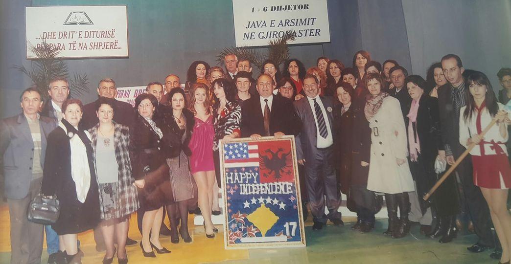 Dhimitër Qurku për 97 vjetorin e gjimnazit Asim Zeneli