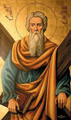 Sot kremtohet Shën Andrea.Gëzuar dhe për shumë vjet,edhe për vogëlushët që mbajnë këtë Emër!