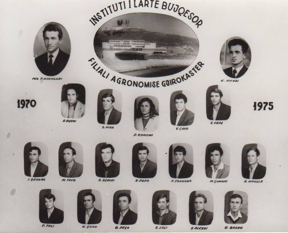 Foto/ Agronomët e parë me arsim të lartë të Institutit të Gjirokastrës