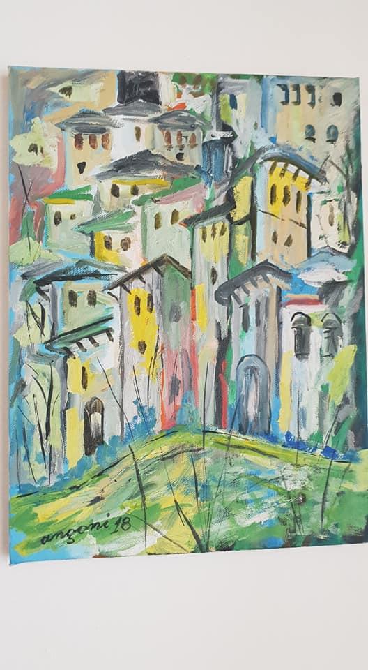 Kujtojmë Azis Angonin, piktorin gjirokastrit që me punët e tij të bukura zbukuronte Pazarin dhe Gjirokastrën