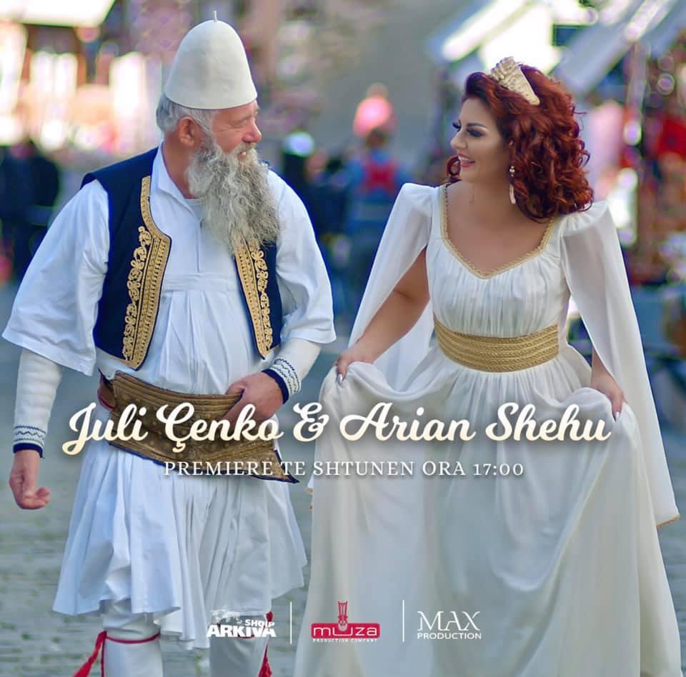 Arjan Shehu dhe Juli Çenko me një kënge të re...