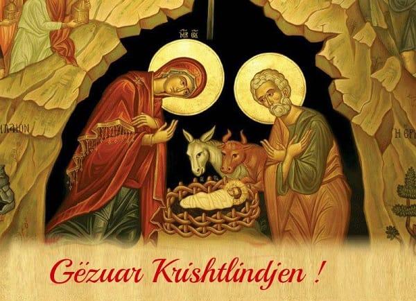 Sot, në Krishtlindje, urojmë Kristaqët që festojnë Emrin