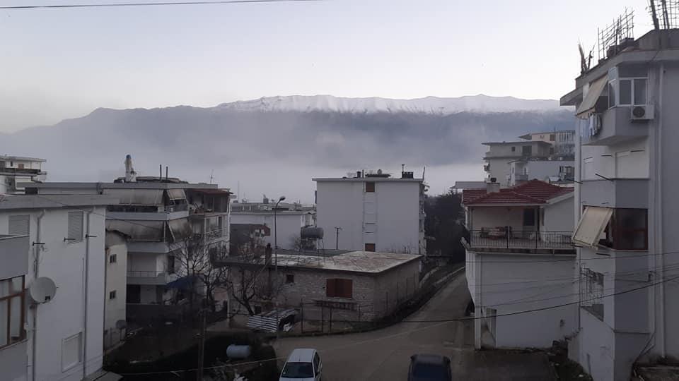 Mengjesi i 2 janarit 2021 ne Gjirokastër