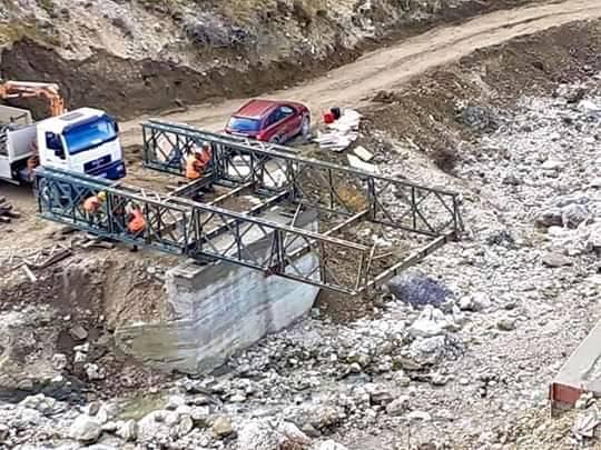 Ure e re mbi lumin e fshatit Arrëz e Madhe ne zonen e Luftinjes
