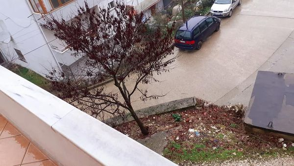 Ne Gjirokastër,21 janar 2021, mot me shi të dendur në Luginën e Drinos!