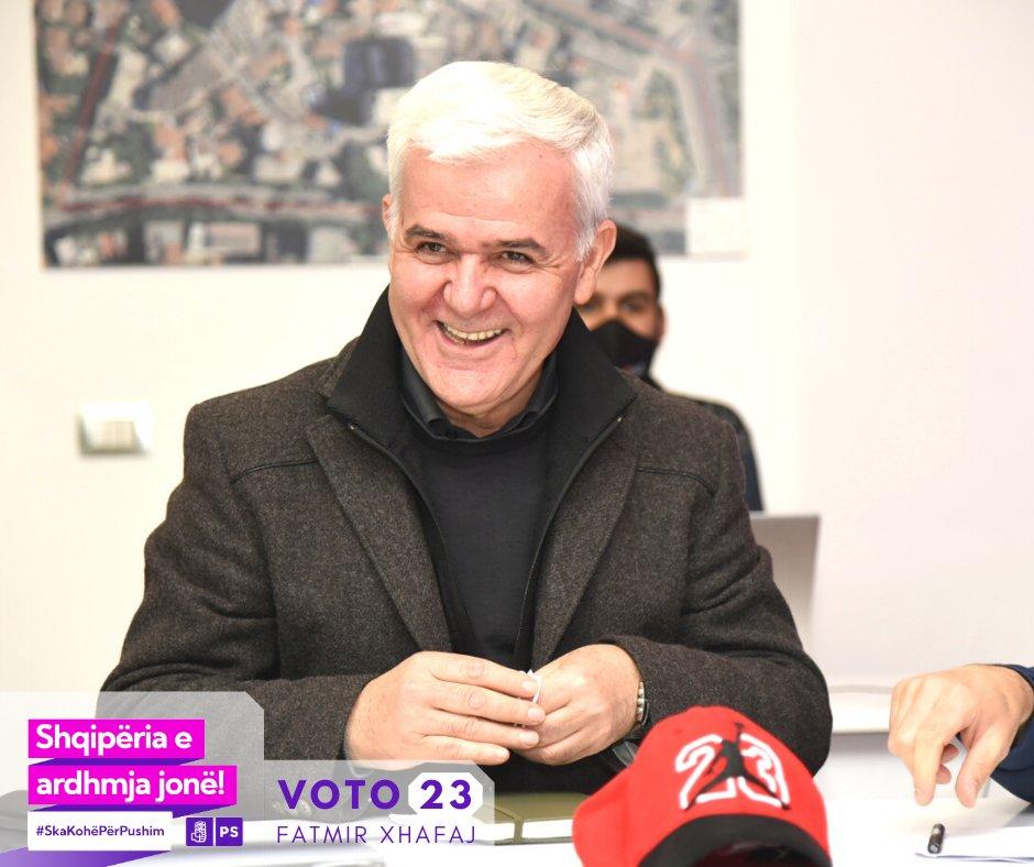 Fatmir Xhafaj,deputet ne legjislaturen e ardhshme te Kuvendit te Shqiperise, shpreh Mirenjohje per familjen, ekipin,socialistet dhe votuesit e qarkut qe e votuan