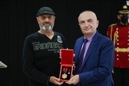 Ish -futbollisti i shquar Milto Gurma i 'Luftëtarit' nderohet me titullin e larte 'Mjeshtër i madh'