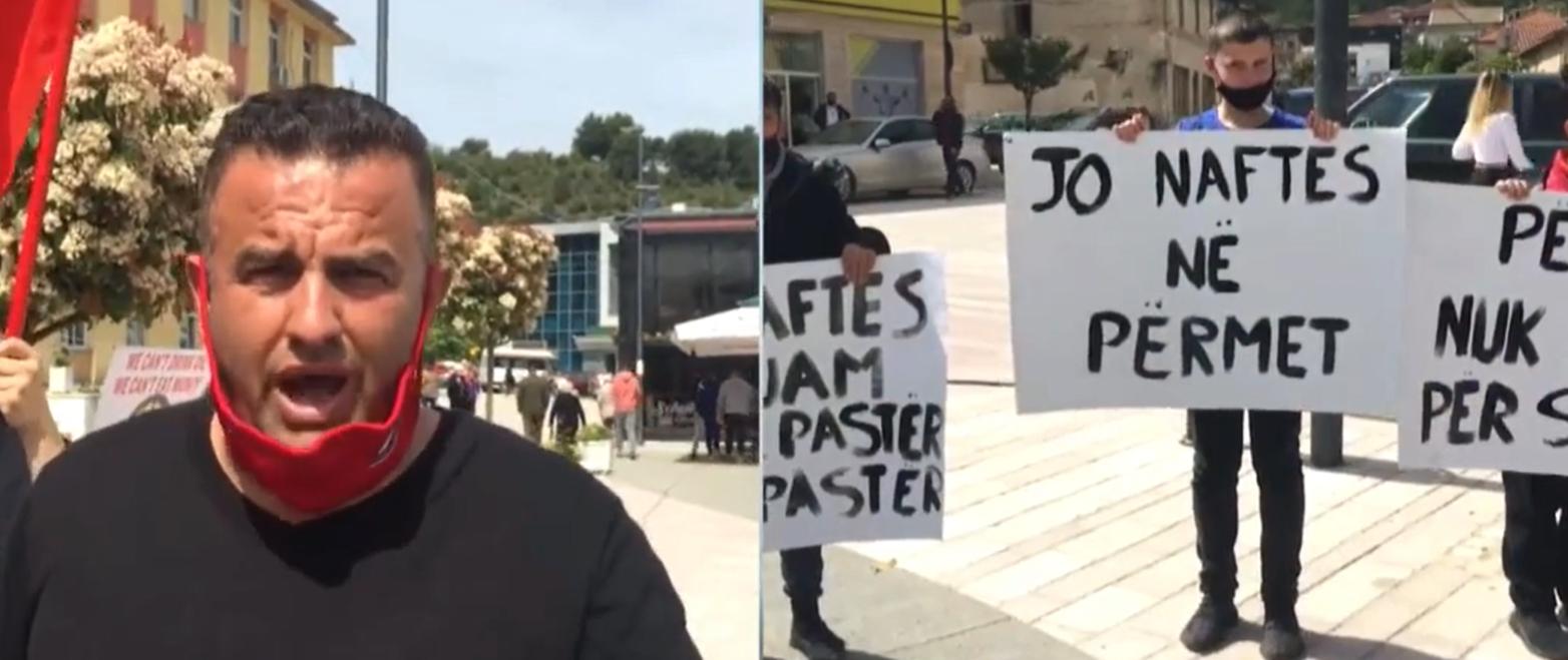 JO NAFTES NE PERMET - Qytetaret Permetare Protestojne ndaj Kerkimeve Te Kompanise SHELL