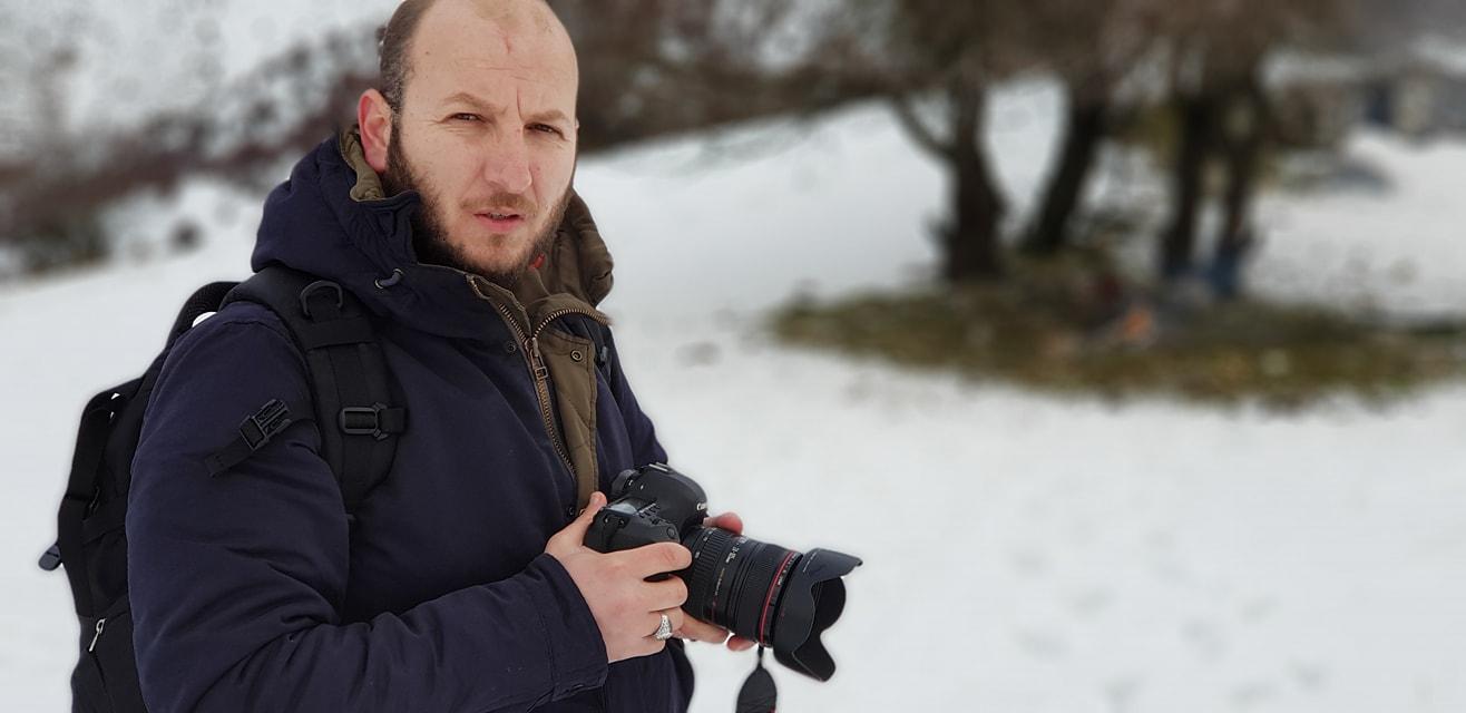 Alban Bejko mjeshter i fotografise artistike, me udhetime te gjata ne kerkim te bukurive te natyres shqiptare