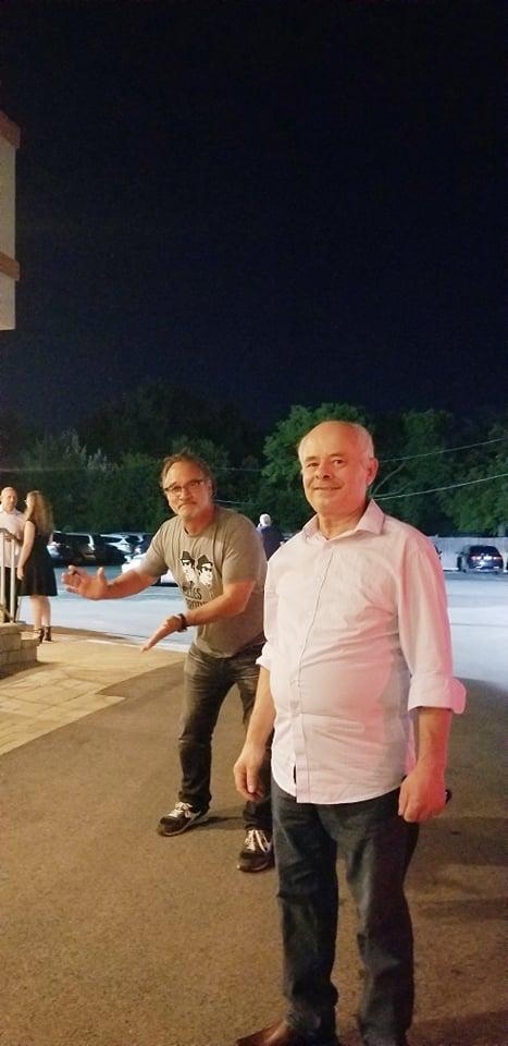 """Tahir Boçi:""""Me aktorin shqiptaro-amerikan Xhim Belushi.Shqipërinë e kishte vizituar dy herë dhe kishte vetem nje peng..."""""""