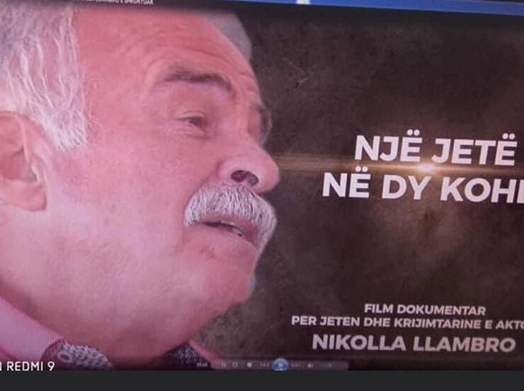 Ja ku do ta ndiqni filmin dokumentar te Eli Bicit per artistin e kinematografise shqiptare Nikolla Llambro!