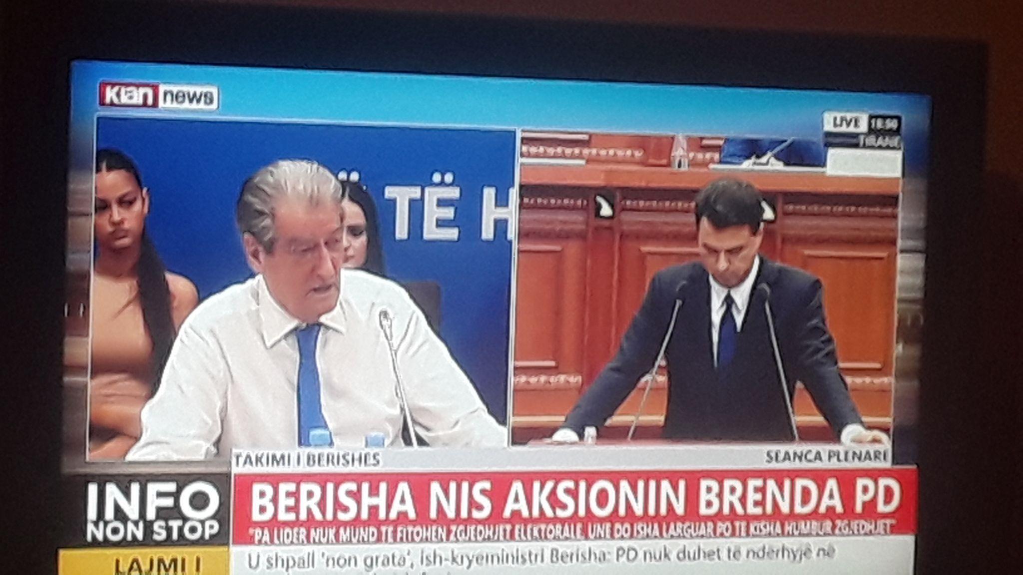 Berisha eklipson Bashen me demokratet e flakte dhe flet per te ardhmen e PD dhe Shqiperise...